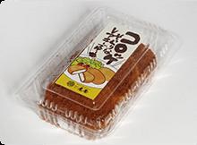 コロッケそっくりなレアチーズケーキのパッケージ画像